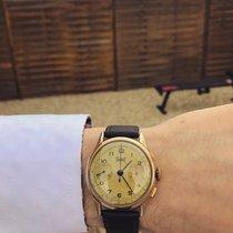 Bovet Aur galben 35mm Cronograf 389517 folosit România, Bucuresti