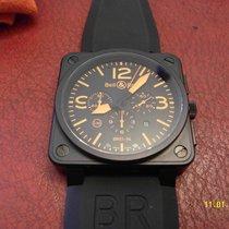 Bell & Ross BR 01-94 Chronographe nouveau 2007 Remontage automatique Chronographe Montre avec coffret d'origine et papiers d'origine BR01-94