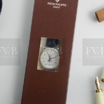 Patek Philippe White gold Automatic No numerals 38mm new Annual Calendar
