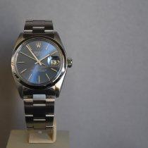 Rolex Oyster Perpetual Date Staal 34mm Blauw Geen cijfers Nederland, Groningen