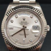 Rolex Day-Date II Złoto białe 41mm