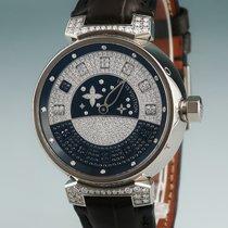 Louis Vuitton Witgoud Automatisch 39mm tweedehands