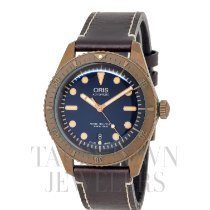 Oris Carl Brashear Bronze 42mm Blue United States of America, New York, Hartsdale