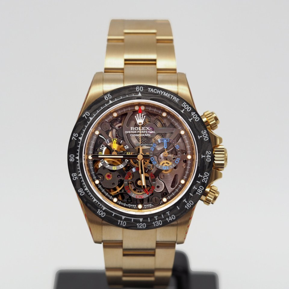 100% authentifié magasiner pour l'original meilleur authentique Rolex Daytona Yellow Gold