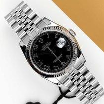 Rolex Datejust Acero y oro 36mm Negro