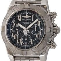 Breitling Chronomat 44 Steel 44mm Black Roman numerals United States of America, Texas, Austin