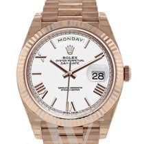 Rolex Day-Date 40 Rose gold 40mm White United States of America, New York, New York
