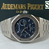 Audemars Piguet Royal Oak Dual Time Acero Azul