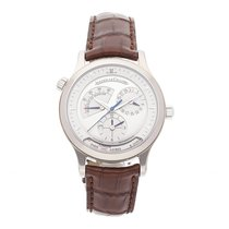 Jaeger-LeCoultre Master Geographic Acero 38mm Plata Sin cifras