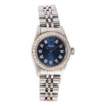 Rolex Oyster Perpetual Steel 26mm Blue United States of America, Maryland, Rockville