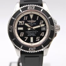 Breitling Superocean 42 Acier 42mm Noir Arabes