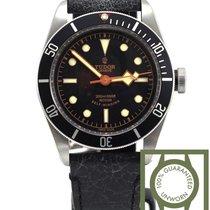 Tudor Heritage Black Bay black leather 79220 NEW