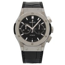 Hublot Titanium Automatic Black 45mm new Classic Fusion Chronograph