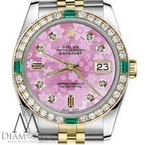 Rolex Lady-Datejust Or/Acier 31mm Rose