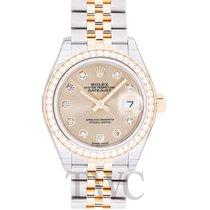 Rolex 279383RBR Oro amarillo Lady-Datejust 28mm nuevo