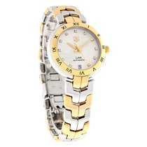 TAG Heuer Link Diamond Ladies 18K Swiss Automatic Watch...