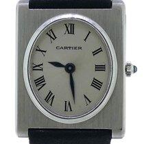 "Cartier Mens Vintage 1969 Cartier / Piaget ""tank Ovale"" 18k..."