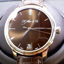 H.Moser & Cie. White gold Manual winding Brown new Endeavour