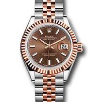 Rolex Datejust Everose Gold & Stainless Steel Ladies Watch