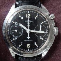 Lemania 1967 Royal Air Force Pilot  SINGLE pusher chronograph