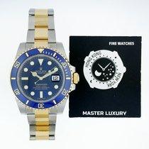 Rolex 116613LB Submariner Blue Dial YG/SS