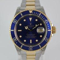 Rolex Submariner Date 16613 #A3293 aus 1987 Box, Revi.