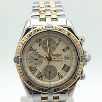 Breitling Crosswind Chronograph Stainless Steel And 18k Yellow...