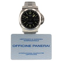 パネライ (Panerai) Luminor GMT Automatic Acciaio  Mens Watch PAM00297