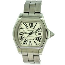 b2a66fb4a06 Cartier Roadster Large 3312 W6206017 Stainless Steel Silver Dial for ...