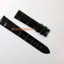 Jaeger-LeCoultre Black  Alligator Strap Short Size 16mm
