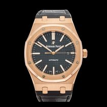 Audemars Piguet Royal Oak 18k Rose Gold Gents 15400OR.OO.D002C...