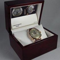 Chronographe Suisse - Landeron 51 Chronographe Suisse 18k Gold...