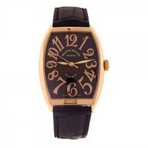 Franck Muller Cintree Curvex Sunset 18k Rose Gold Automatic...