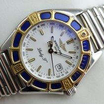 Breitling Lady J Quarz - D52065 - Rouleauxband - Papiere
