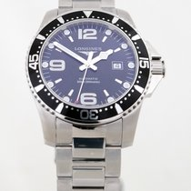 Longines HydroConquest Zeljezo 44mm Crn