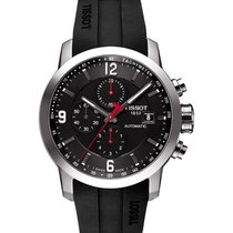Tissot Kronograf 43mm Otomatik yeni PRC 200 Siyah