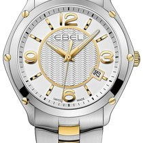 Ebel Sport Steel 40mm Silver Arabic numerals United States of America, New York, New York