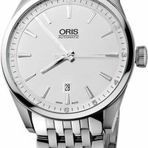 Oris Artix Date Steel 42mm Silver No numerals United States of America, New York, New York City