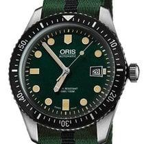 Oris Divers Sixty Five Acier 42mm Vert