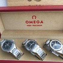 Omega Steel Black Arabic numerals