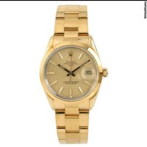 Rolex Oyster Perpetual Date 15505 Very good Gold/Steel 34mm Automatic