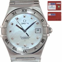 Omega Constellation Ladies Steel 27.5mm Mother of pearl United States of America, New York, Huntington