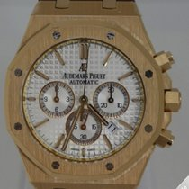 Audemars Piguet Royal Oak Chronograph Rose gold 41mm White