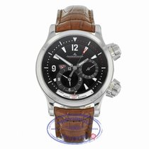 Jaeger-LeCoultre Master Compressor Geographic Steel 41mm Black Arabic numerals United States of America, California, Beverly Hills