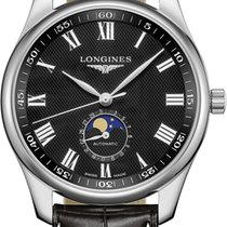 Longines Master Collection Steel 42mm Black United States of America, New York, Airmont