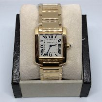 Cartier Tank Française new Quartz Watch with original box and original papers 1821