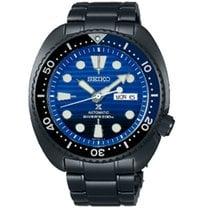 Seiko Prospex Stahl 45mm Blau