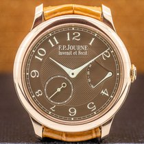 F.P.Journe Rose gold Manual winding Brown Arabic numerals 40mm pre-owned Souveraine