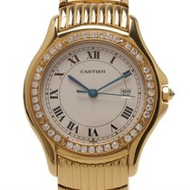 Cartier Cougar Gelbgold
