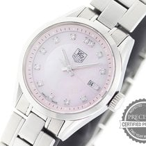 TAG Heuer Carrera Lady Steel 27mm Mother of pearl No numerals